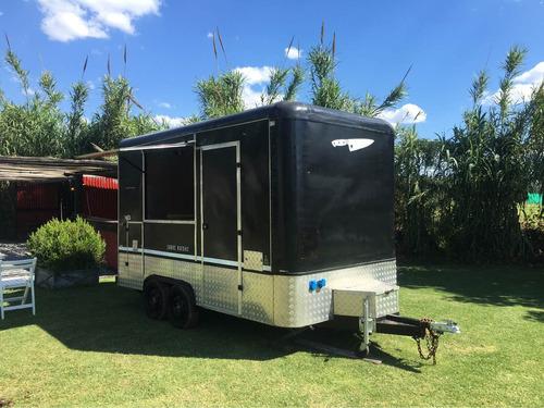alquiler food truck trailer gastronómico + heladera exhibido