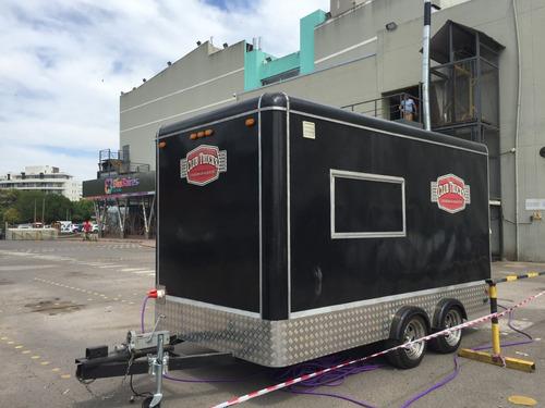 alquiler foodtruck - trailer americano gastronómico