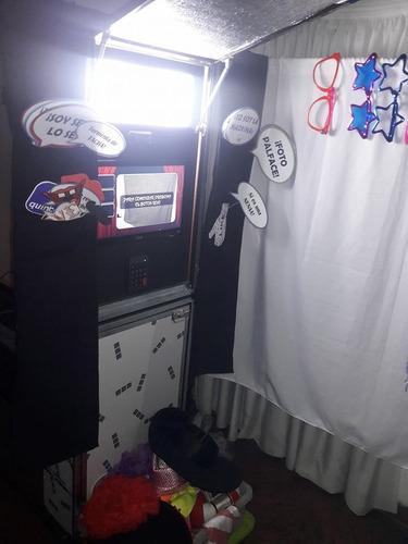 alquiler fotocabina cabina instantanea souvenirs eventos