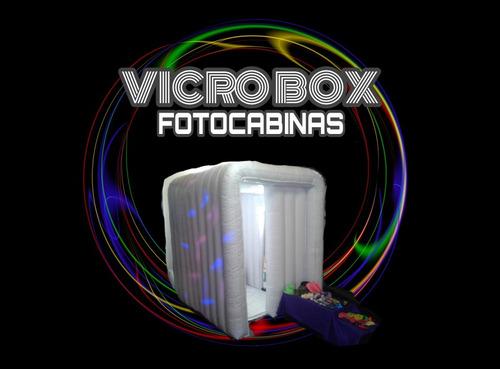 alquiler fotocabinas inflables servicio para eventos