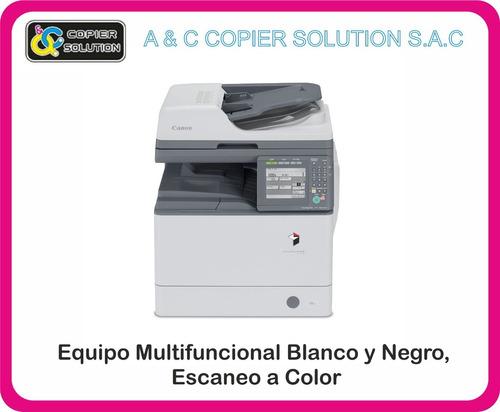 alquiler fotocopiadora copiadora impresora canon