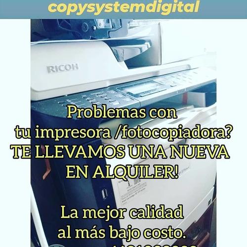 alquiler fotocopiadoras impresoras en capital y gran bs. as.