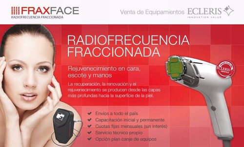 alquiler fraxface ecleris - radiofrecuencia fraccionada