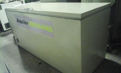 alquiler freezers