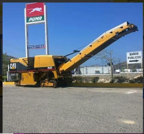 alquiler fresadora de asfalto