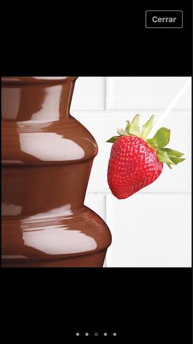 alquiler fuente de chocolate medellin