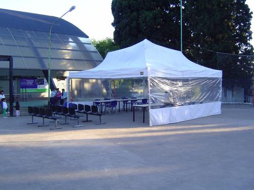 alquiler gazebos carpas 3h plegable 4x6m  fiestas, evento