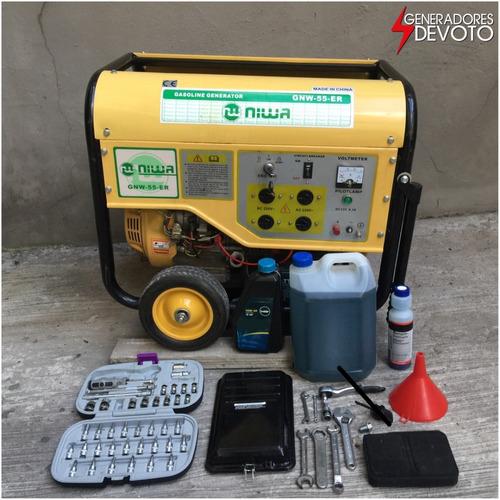 alquiler generador electrico