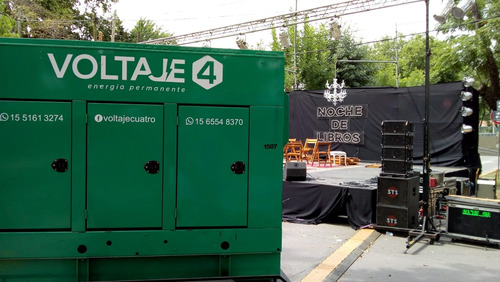 alquiler generadores eléctricos,apto grandes eventos,180 kva