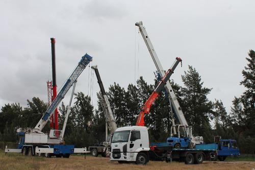 alquiler grua camion hidrogrua crane autoelevador clark
