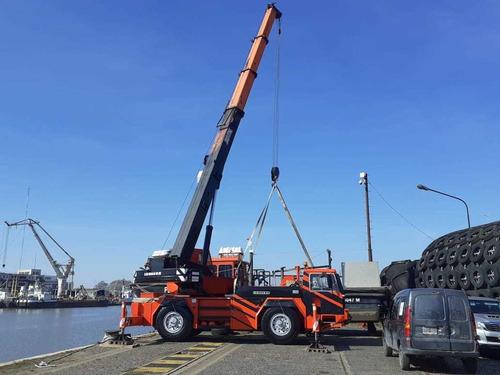 alquiler grúas giratorias hasta 90t, crane y autoelevadores.
