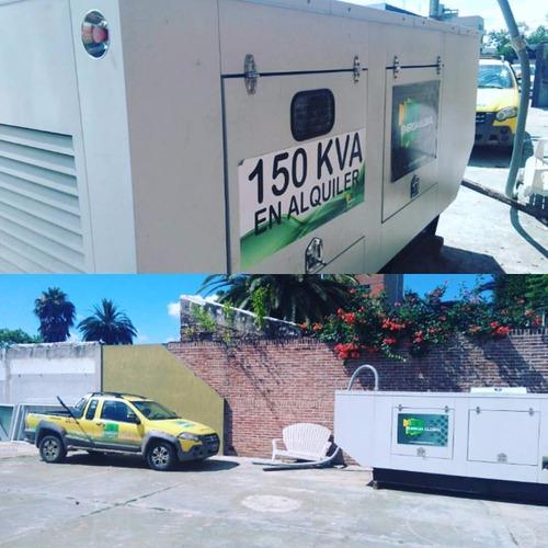 alquiler grupo electrógeno 100 kva energía global
