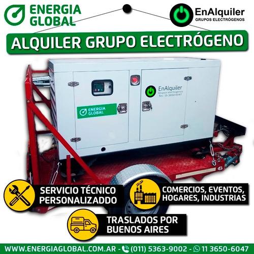alquiler grupo electrógeno 150 kva energía global