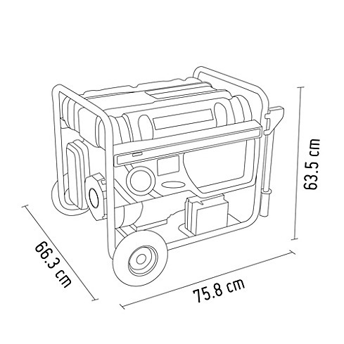 alquiler grupo electrogeno 6.3kw - 6000 watts a domicilio