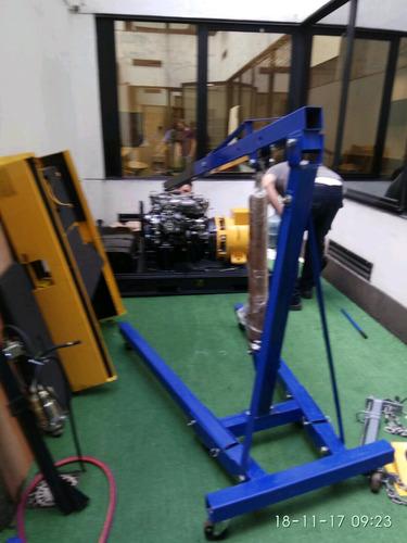 alquiler guinche pluma p elevación de motores y otros h2t