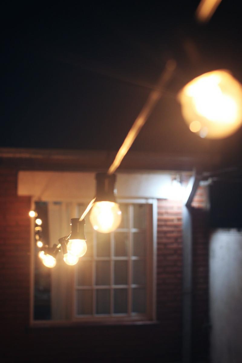 alquiler guirnaldas de luces tipo kermesse zona sur - Guirnaldas De Luces