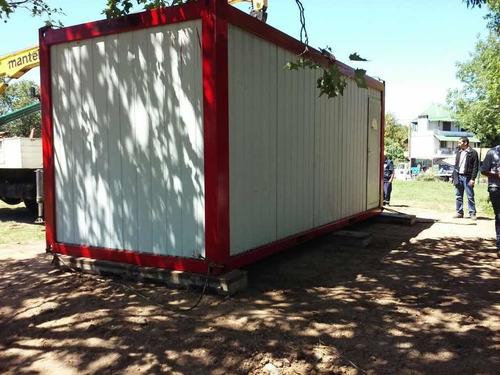 alquiler habitáculos móviles - pañol sanitario- container