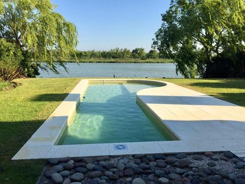 alquiler hermosa casa al lago central , nordelta, la isla
