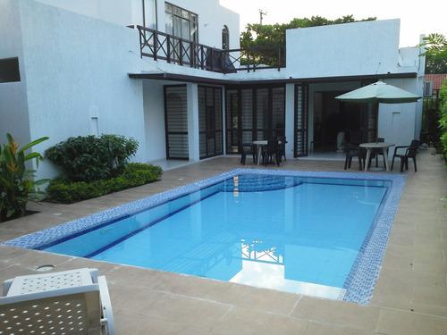 alquiler hermosa casa en girardot peñalisa, piscina privada