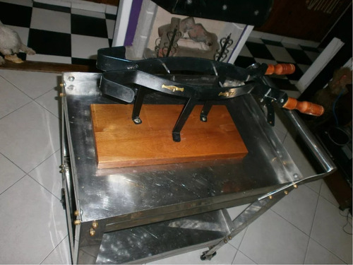 alquiler horno pizzero-freidora-soporte pernil-frascos