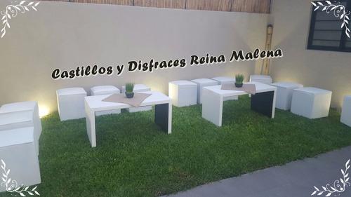 alquiler inflable ballester plaza met tejo pool cama living
