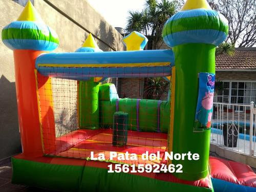 alquiler inflable freezer plaza blanda mini puff zona norte