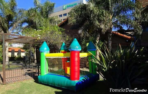 alquiler inflable metegol tejo plaza blanda play living puff