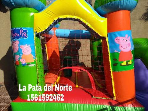 alquiler inflable plaza blanda mini puff zona norte