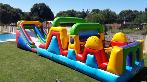 alquiler inflables acuaticos cama elastica plaza blanda