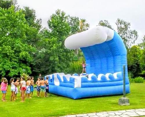 alquiler inflables deportivos mecanicos acuáticos animacion