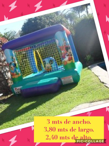alquiler inflables eventos
