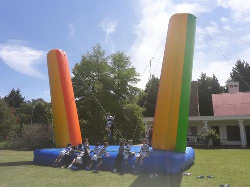 alquiler inflables grandes- escalador- tobogan- cancha y más