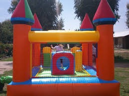 alquiler inflables !!!promo!!! castillo + metegol $ 450.