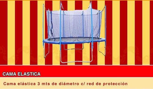 alquiler inflables,cama elastica,tejo,metegol zona oeste
