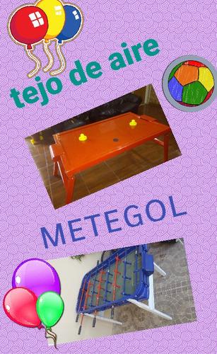 alquiler inflables/metegol/tejo de aire/plaza blanda y más!!