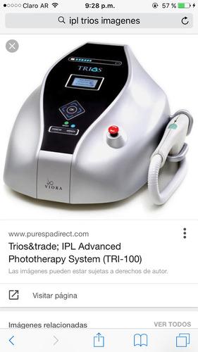 alquiler ipl trios para depilación definitiva y rejuvenecimi