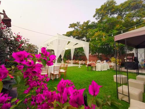 alquiler jardin en cieneguilla para eventos