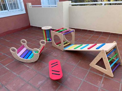 alquiler juegos de plaza montessori (infantes exploradores)
