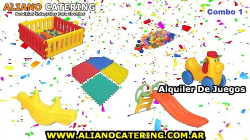 alquiler juegos evento cumpleaños infantil plaza blanda tejo
