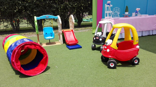 alquiler juegos infantiles little tikes inflables