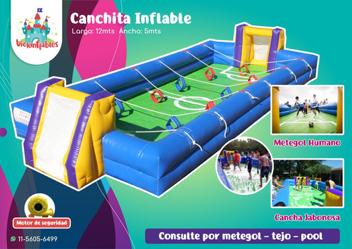 alquiler juegos inflables