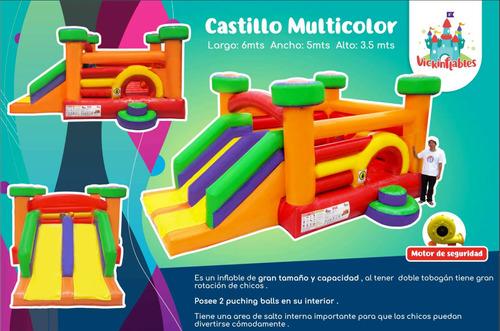 alquiler juegos inflables acuaticos , castillos y peloteros