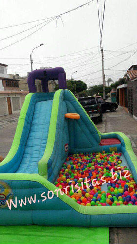 alquiler juegos inflables - infantiles