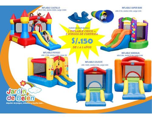 alquiler juegos inflables juegos infantiles camas saltarinas