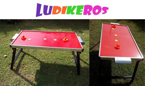 alquiler juegos metegol tejo ping pong jenga gigante