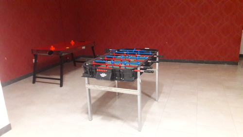 alquiler juegos metegol tejo pool ping pong sapo plaza bland