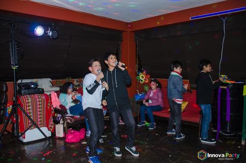 alquiler karaoke en casa breña lince san miguel surco molina
