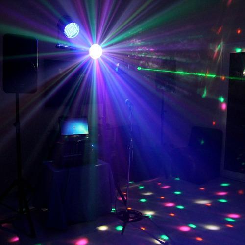 alquiler karaoke sonido dj luces led proyector envio gratis