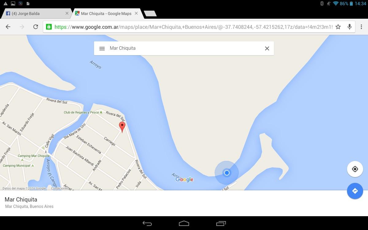alquiler laguna mar chiquita!!!!