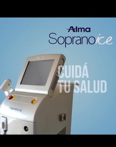 alquiler láser soprano depilacion definitiva ice alma orig